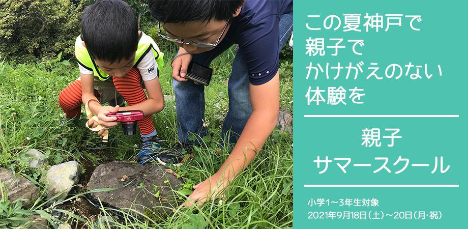 神戸里山で自然体験!親子サマースクール開催予定!